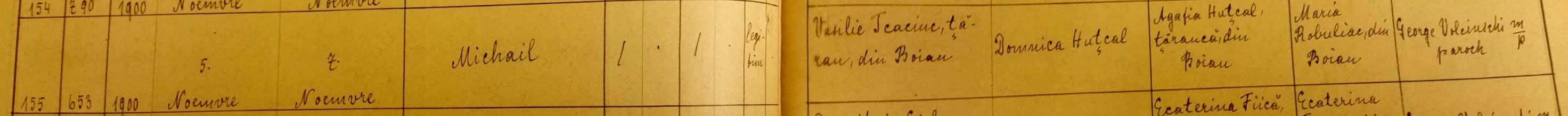 Michail-birth-record---1900